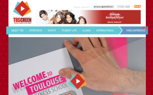 Web TV ESC Toulouse admissibles 2012