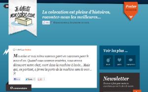 je deteste mon coloc.com ESC Saint Etienne
