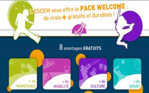 ESCEM pack welcome et pack savoir plus