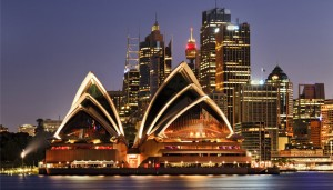 Stage en Australie