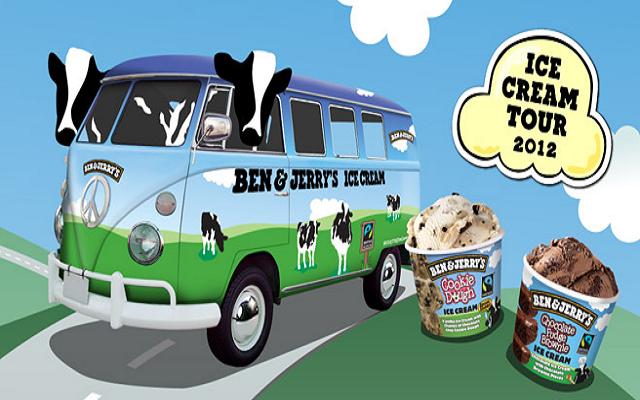 ben u0026jerry u2019s distribue des glaces gratuites dans les campus de france