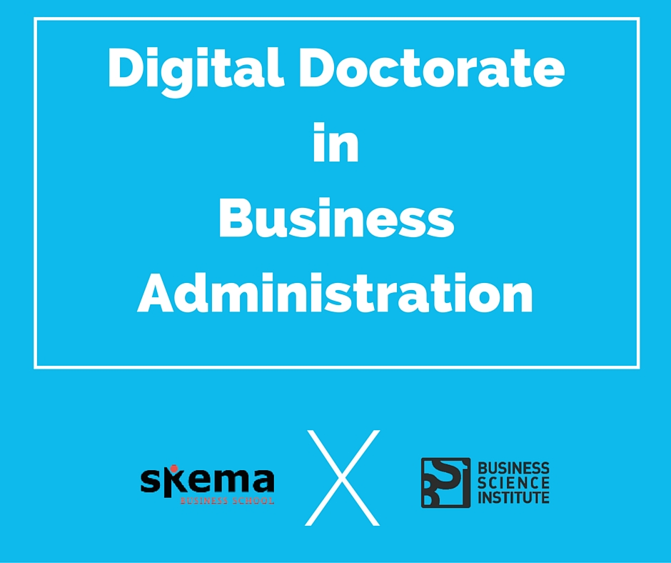 Digital Doctorate in Business Administration